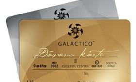 Galactico dāvanu karte